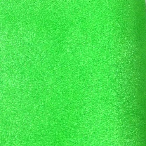 Faux Leather - Neon Lime Green