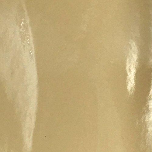 Patent Faux Leather - Cream