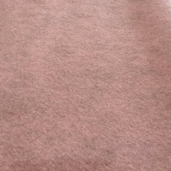 Fancy Felt Merino Heathered Felt - Cameo Pink