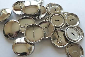 Pack of 5 - 29mm Metal Self Cover Buttons