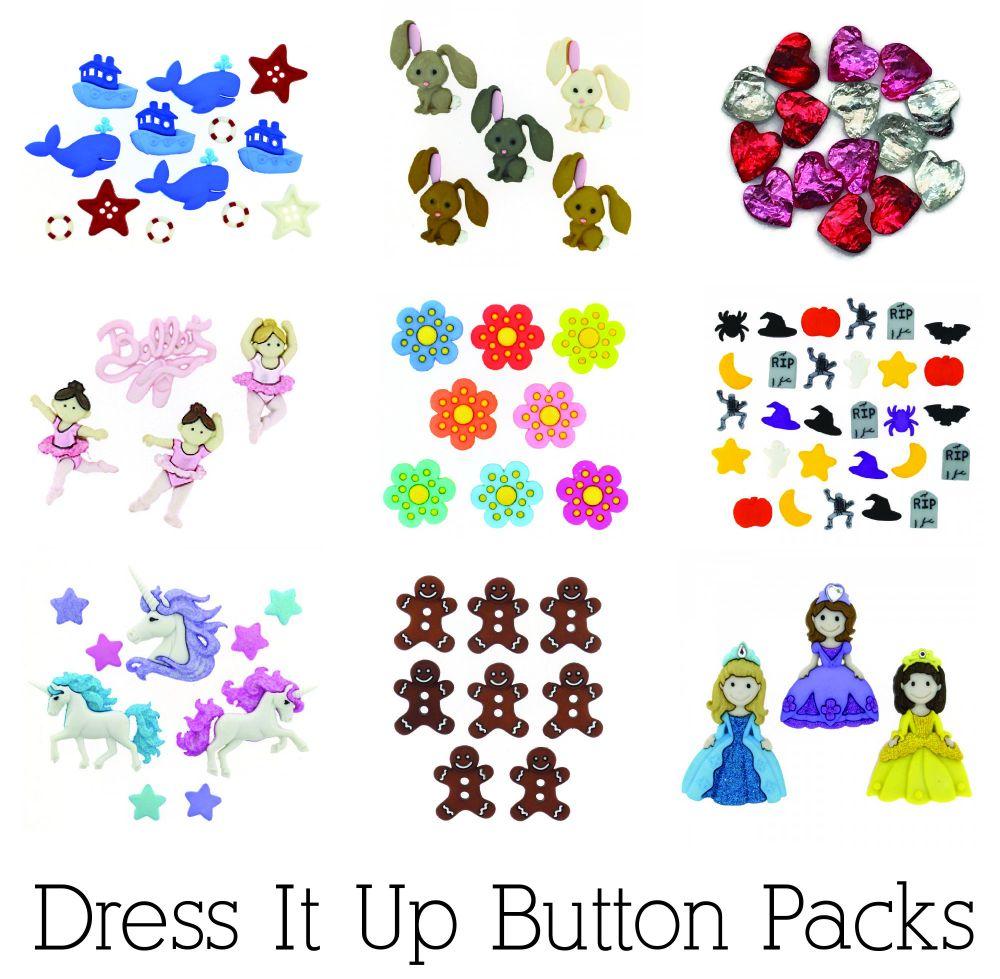 Dress It Up Buttons