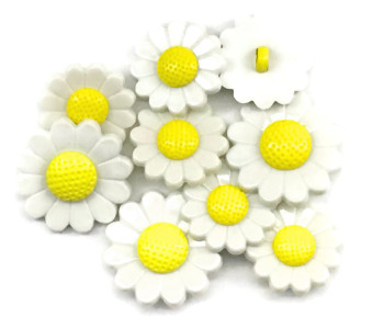 Dress It Up Button Pack - Daisies