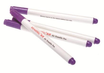 Purple Air Erasable Pen