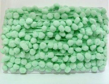 SALE 15mm Pom Pom Trim - Mint