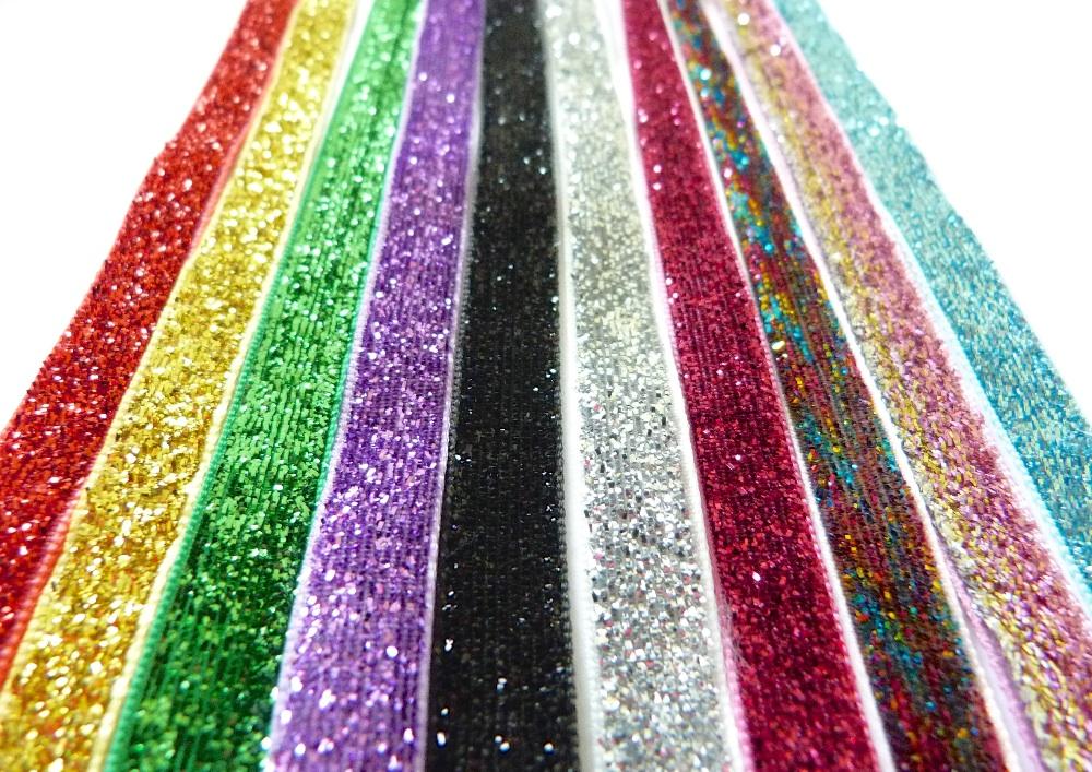 Glitter Velvet Ribbon