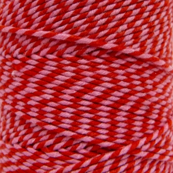 5 Metres - Bakers Twine: Pink/Red