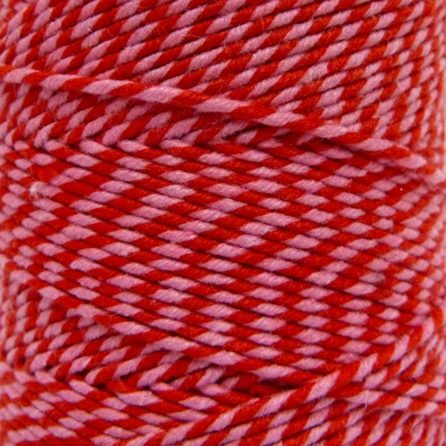 10m Bakers Twine: Pink/Red