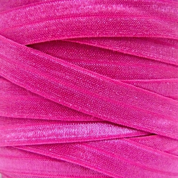 Fold Over Elastic - Pearlescent - Bright Pink