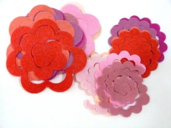 Make Me - Die Cut Roses Set - Pinks