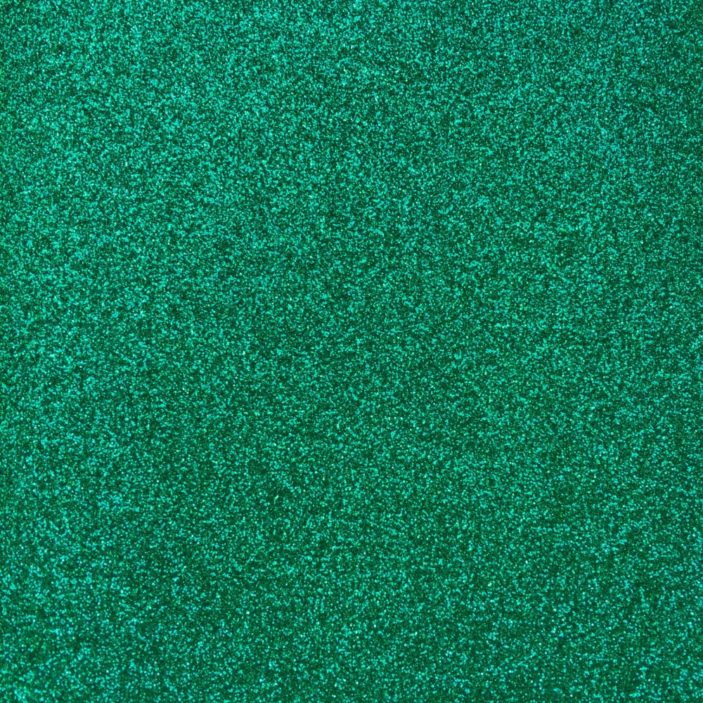 Iron On Glitter - Dark Green