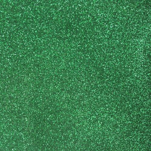 Iron On Glitter - Green