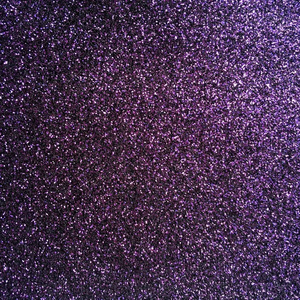 Iron On Glitter - Plum