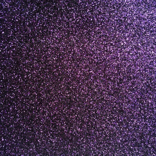 Iron On Glitter - Plum