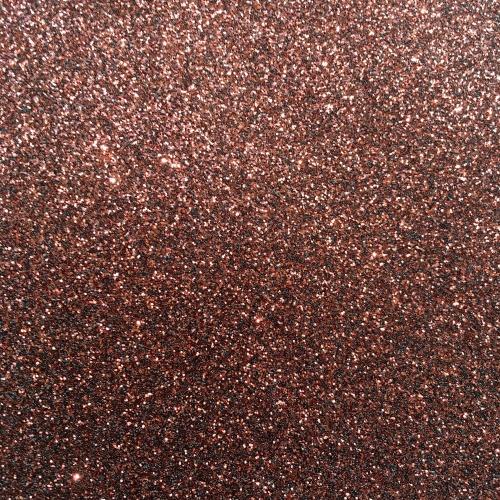 Iron On Glitter - Brown