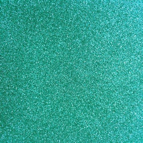 Iron On Glitter - Aqua Mint