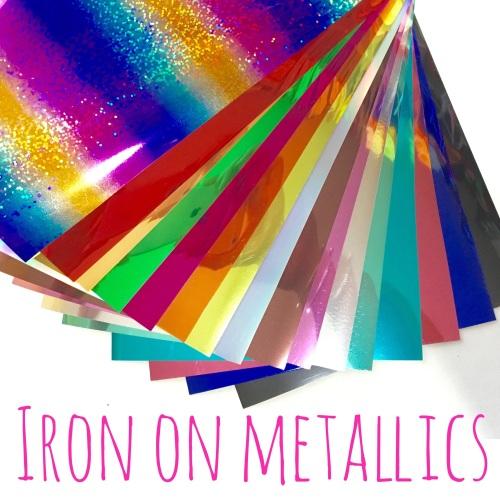 Iron On Metallic Bulk