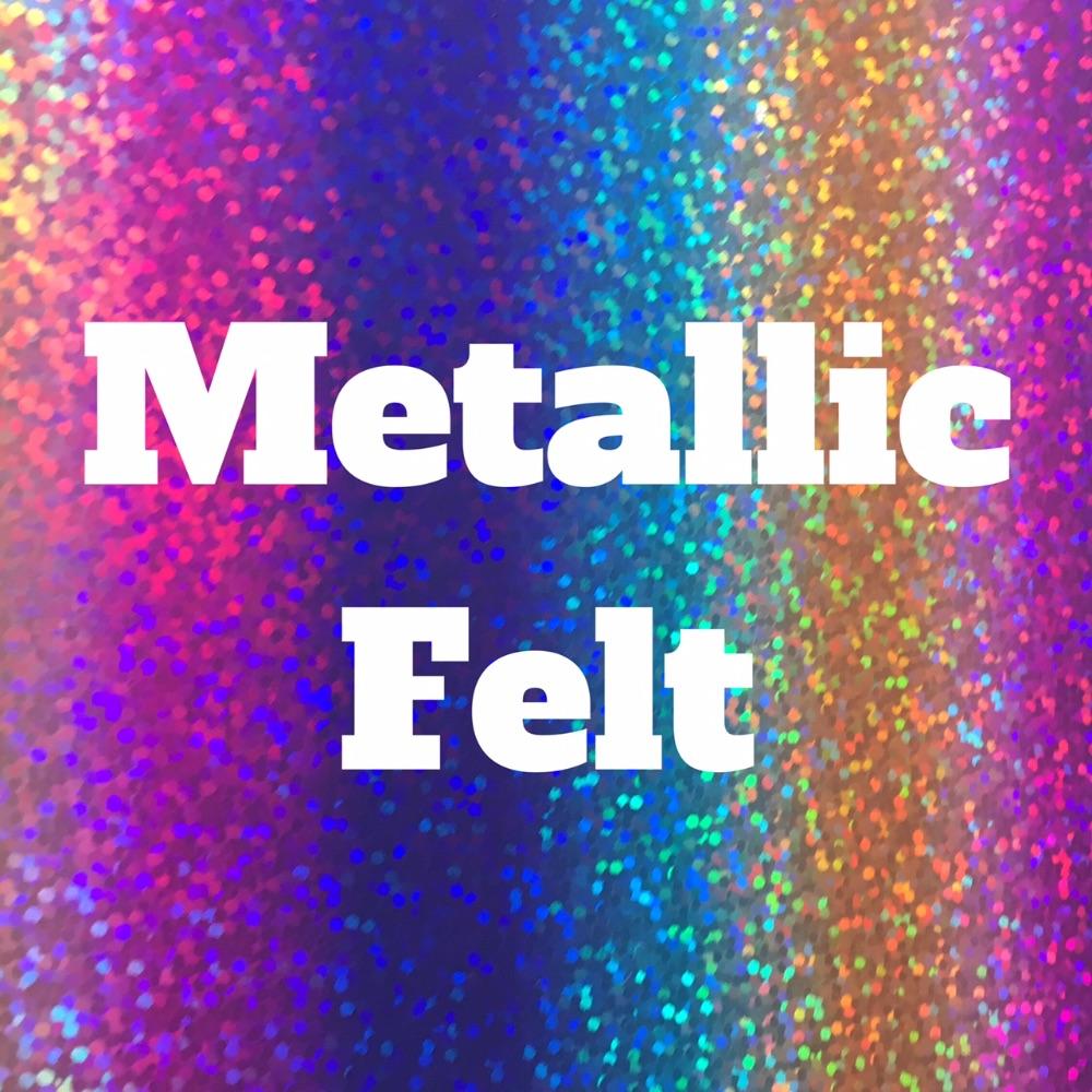 Metallic Felt