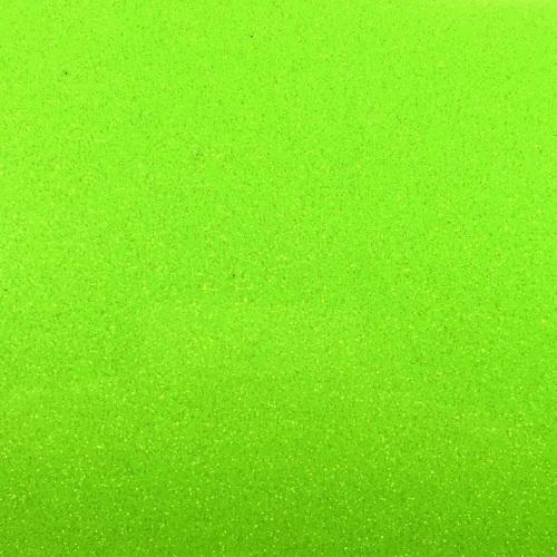 Iron On Glitter - Neon Green