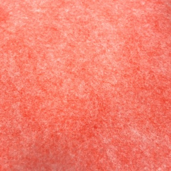 Merino Heathered Felt - Charming Coral
