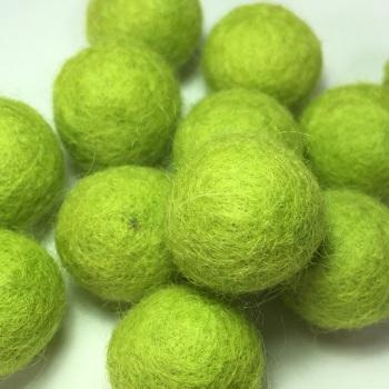 2cm Wool Felt Ball - Pistachio