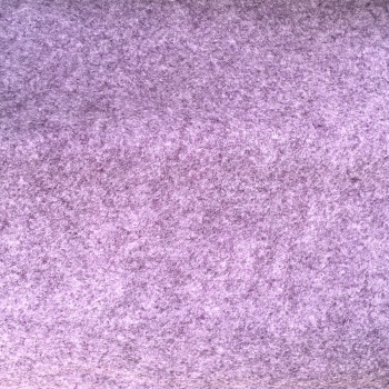 Marl Wool Blend Felt - Heathered Lilac
