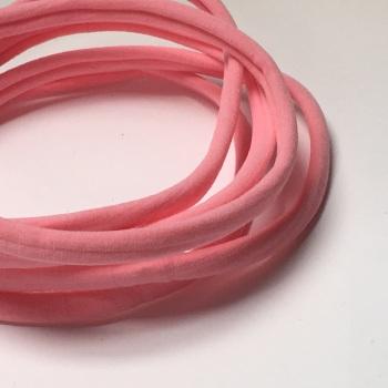 Nylon Skinny Headband - Pink
