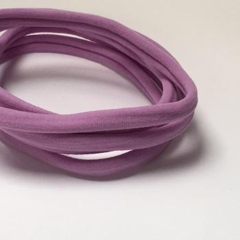 Nylon Skinny Headband - Lilac
