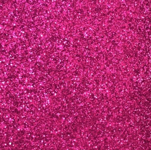Iron On Glitter - Fuchsia