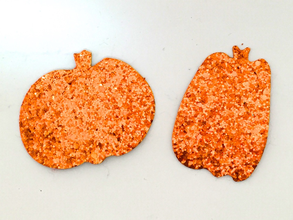 Die Cut Pumpkins