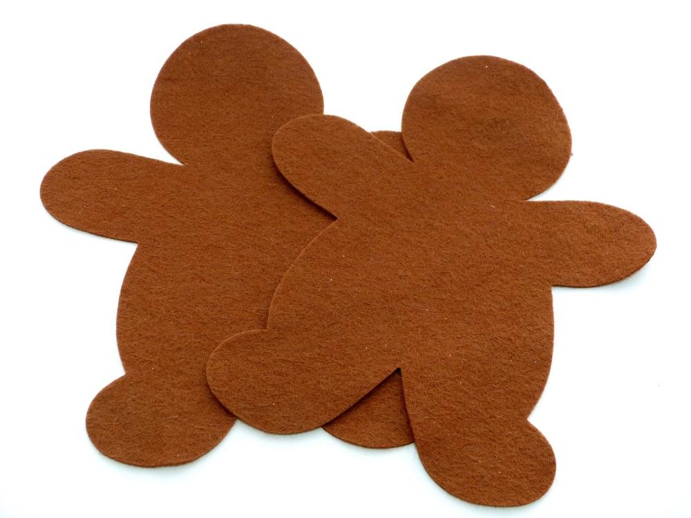 Die Cut Gingerbread Man