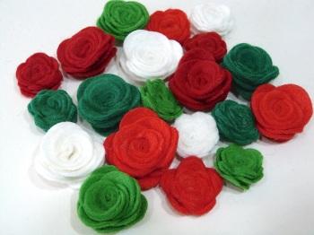 Make Me - Die Cut Roses Set - Christmas