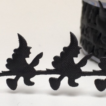 Half Metre Satin Cut Out - Witches