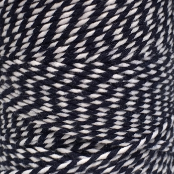 10m Bakers Twine: Navy/White