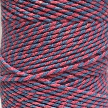 5 Metres - Bakers Twine: Pink/Blue