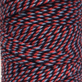 10m Bakers Twine: Red/Blue/Navy