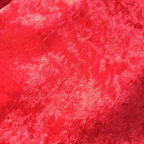 Velvet Felt Fabric - Red