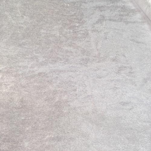Velvet Felt Fabric - White