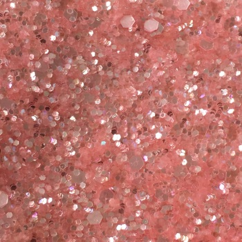 Exclusive Glitter Fabric Sheet - Baby Pink