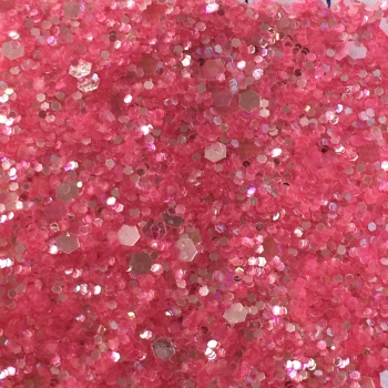 Exclusive Glitter Fabric Sheet - Pink