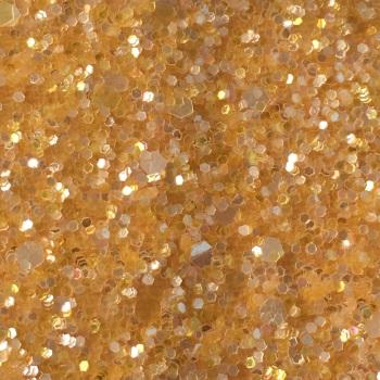 Crystal Chunky Glitter Fabric Sheet - Sunshine