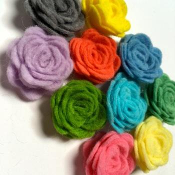 Make Me - Die Cut Roses Set - Colour Collection - Summer