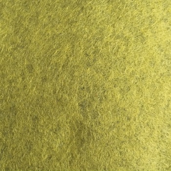 Marl Wool Blend Felt - Heathered Moss