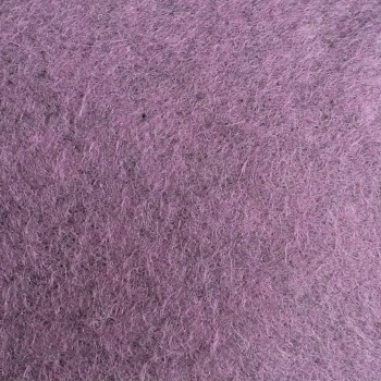 Marl Wool Blend Felt - Heathered Purple
