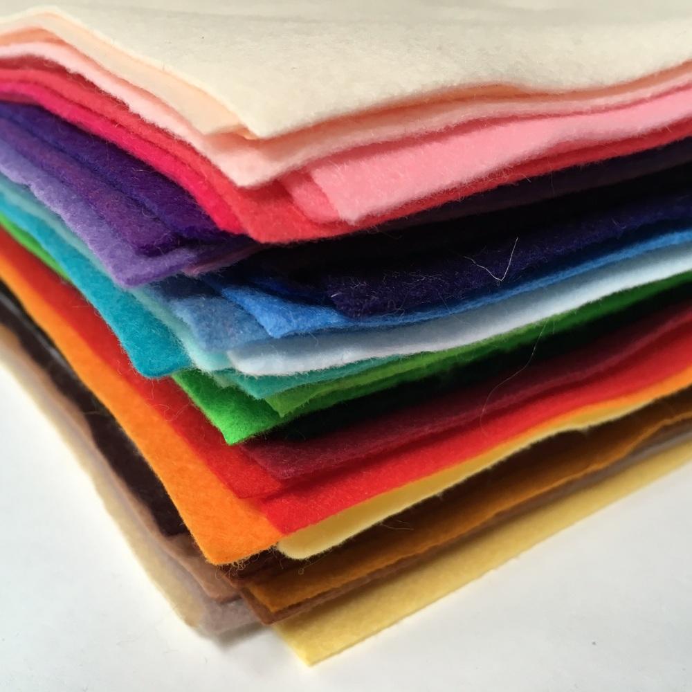 Polyester Felt Rainbow