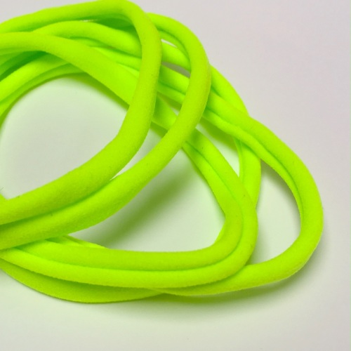 Nylon Skinny Headband - Neon Lime