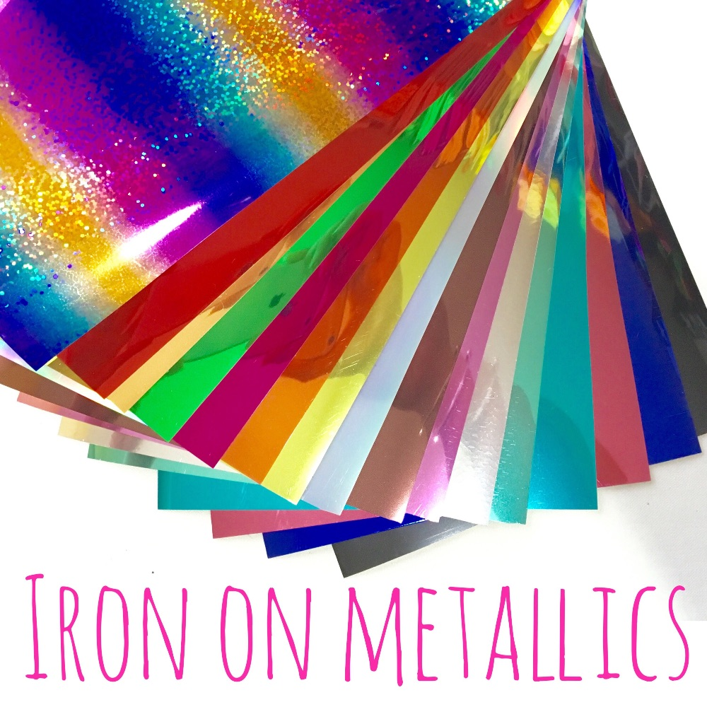 Iron On Metallic