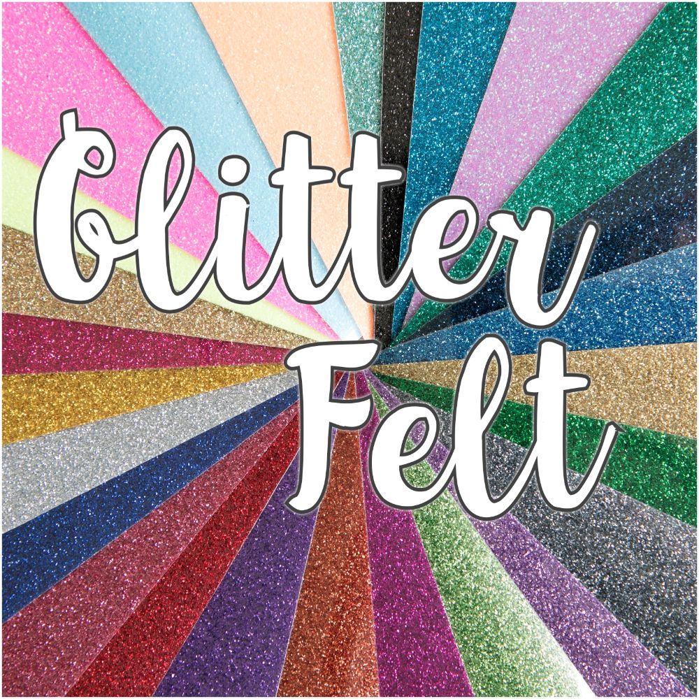 Glitter Fabric Felt