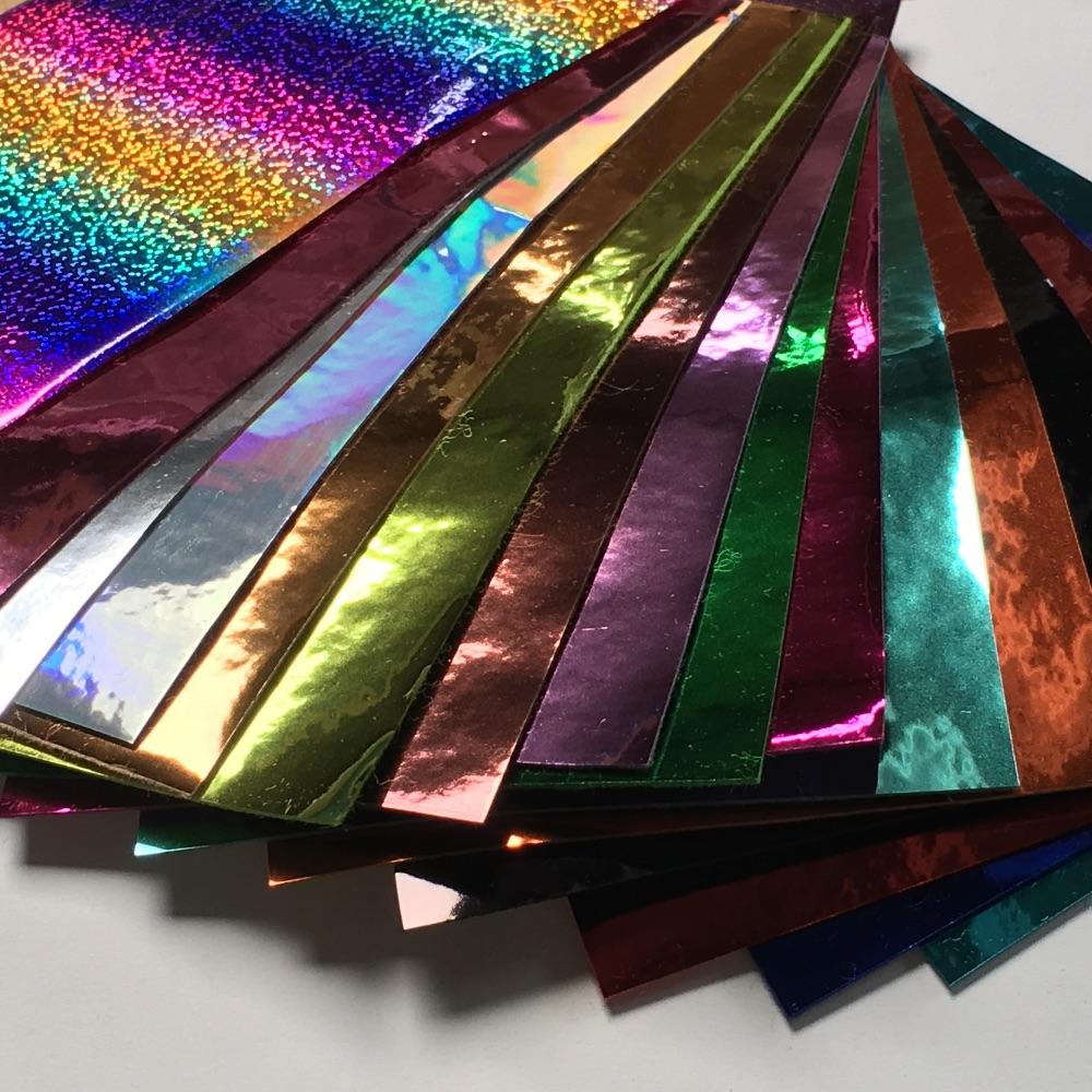Metallic & Faux Leather Fabric Felt