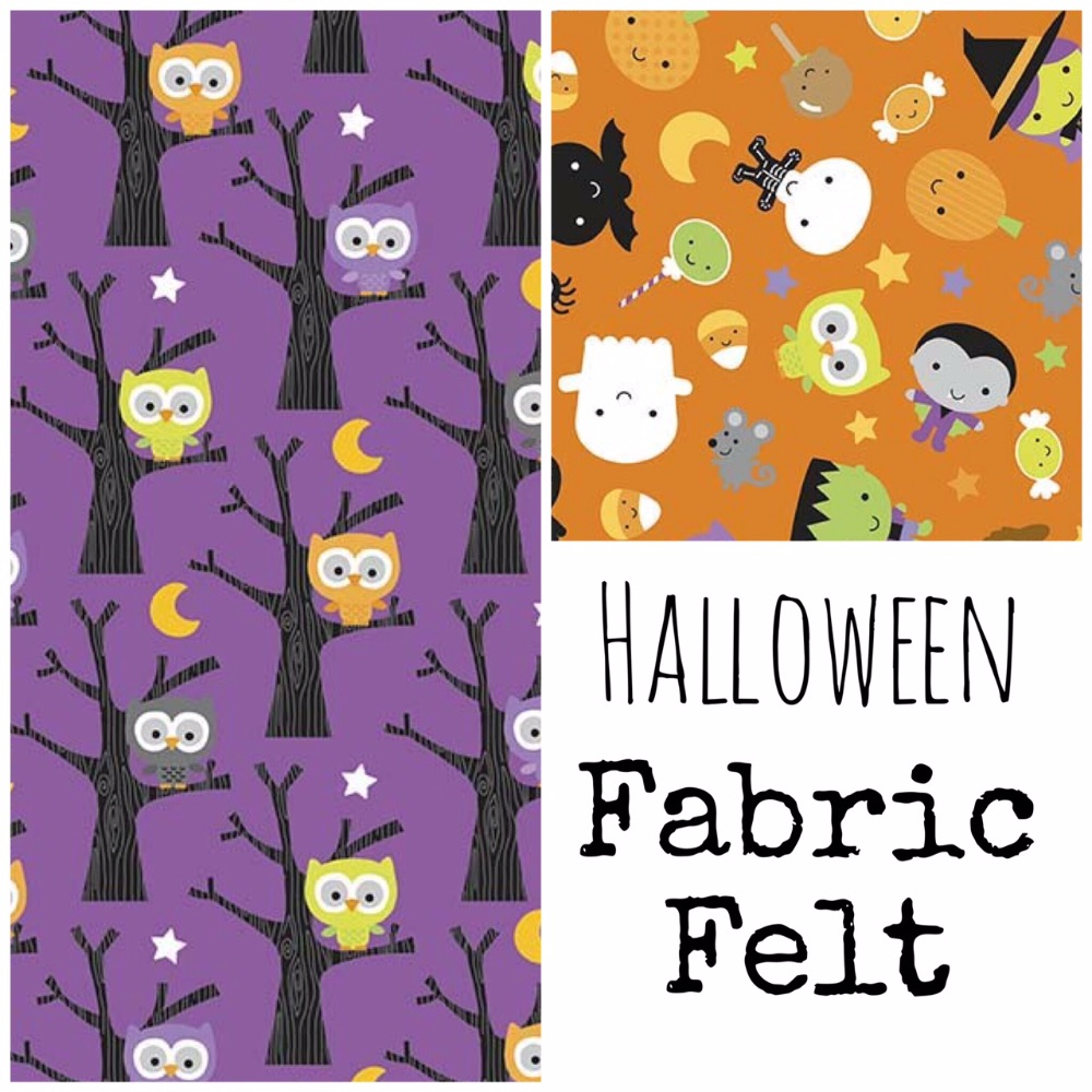 Halloween Fabric Felt