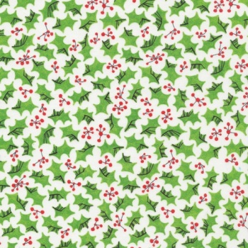 FABRIC FELT Christmas - Cloud 9 - Festive Holly